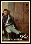 1958 Topps Zorro #59   Storm Of Arrows Front Thumbnail