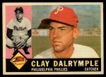 1960 Topps #523  Clay Dalrymple  Front Thumbnail