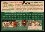 1954 Topps #77  Ray Boone  Back Thumbnail