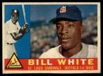 1960 Topps #355  Bill White  Front Thumbnail