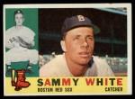 1960 Topps #203  Sammy White  Front Thumbnail