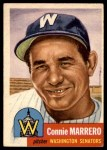 1953 Topps #13  Connie Marrero  Front Thumbnail
