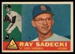 1960 Topps #327  Ray Sadecki  Front Thumbnail