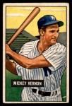 1951 Bowman #65  Mickey Vernon  Front Thumbnail