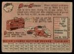 1958 Topps #144  Bobby Morgan  Back Thumbnail