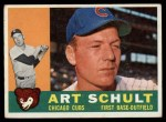 1960 Topps #93  Art Schult  Front Thumbnail