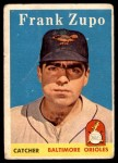 1958 Topps #229  Frank Zupo  Front Thumbnail