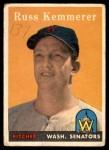 1958 Topps #137  Russ Kemmerer  Front Thumbnail