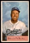 1954 Bowman #170  Duke Snider  Front Thumbnail