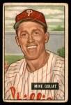 1951 Bowman #77  Mike Goliat  Front Thumbnail