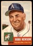 1953 Topps #15  Bobo Newsom  Front Thumbnail