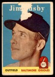 1958 Topps #28  Jim Busby  Front Thumbnail