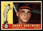 1960 Topps #348  Barry Shetrone  Front Thumbnail
