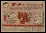 1958 Topps #338  Walt Dropo  Back Thumbnail