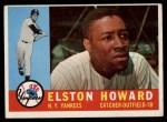 1960 Topps #65  Elston Howard  Front Thumbnail