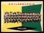 1960 Topps #302   Phillies Team Checklist Front Thumbnail