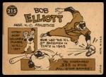 1960 Topps #215  Bob Elliott  Back Thumbnail