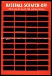 1971 Topps Scratch Offs #1  Hank Aaron  Back Thumbnail