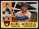1960 Topps #39  Earl Averill Jr.  Front Thumbnail