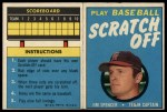 1971 Topps Scratch Offs #20  Jim Spencer      Front Thumbnail