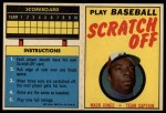 1970 Topps Scratch Offs #9  Mack Jones     Front Thumbnail