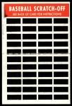 1970 Topps Scratch Offs #6  Dick Bosman    Back Thumbnail