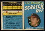 1970 Topps Scratch Offs #20  Jim Spencer  Front Thumbnail