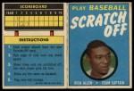 1970 Topps Scratch Offs #2  Rich Allen      Front Thumbnail