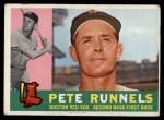 1960 Topps #15  Pete Runnels  Front Thumbnail