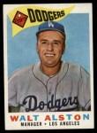 1960 Topps #212  Walter Alston  Front Thumbnail
