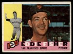 1960 Topps #23  Eddie Fisher  Front Thumbnail