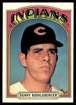 1972 Topps #642  Dennis Riddleberger  Front Thumbnail