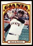 1972 Topps #280  Willie McCovey  Front Thumbnail