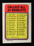 1970 Topps Booklets #19  Cleon Jones  Back Thumbnail