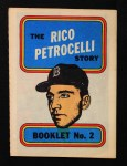 1970 Topps Booklets #2  Rico Petrocelli  Front Thumbnail