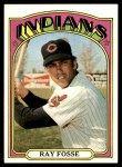 1972 Topps #470  Ray Fosse  Front Thumbnail