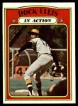 1972 Topps #180   -  Dock Ellis In Action Front Thumbnail