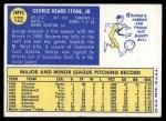 1970 Topps #122  George Stone  Back Thumbnail