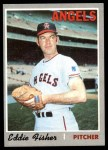 1970 Topps #156  Eddie Fisher  Front Thumbnail