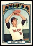 1972 Topps #656  Rudy May  Front Thumbnail