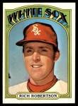 1972 Topps #618  Rich Robertson  Front Thumbnail