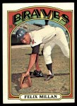 1972 Topps #540  Felix Millan  Front Thumbnail
