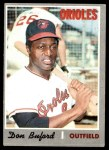 1970 Topps #428  Don Buford  Front Thumbnail