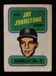 1970 Topps Booklets #3  Jay Johnstone  Front Thumbnail