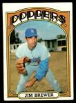 1972 Topps #151  Jim Brewer  Front Thumbnail