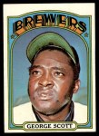 1972 Topps #585  George Scott  Front Thumbnail