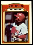 1972 Topps #292   -  Hal McRae In Action Front Thumbnail