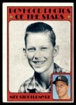 1972 Topps #492   -  Mel Stottlemyre Boyhood Photo Front Thumbnail
