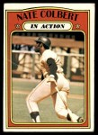 1972 Topps #572   -  Nate Colbert In Action Front Thumbnail