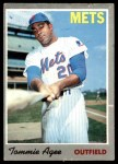 1970 Topps #50  Tommie Agee  Front Thumbnail
